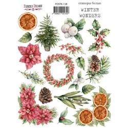 Наклейки №138 - Winter wonders - Фабрика Декору