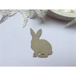 Заготовка ля тиснения - Кролик №1, 7х8 см