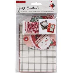 Набор для упаковки подарков - Hey, Santa - Crate Paper