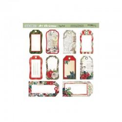 Лист бумаги 20х20 см - Art Christmas - Scrapmir