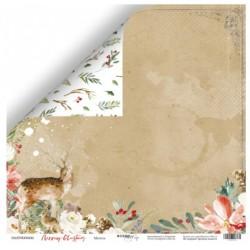 Лист бумаги Метель - Merry Christmas - Scrapmir