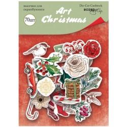 Высечки, 70 шт - Art Christmas - Scrapmir
