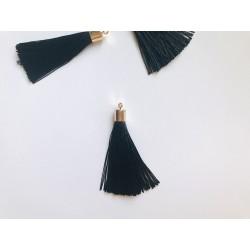 Кисточка шёлковая, 55 мм - Чёрный