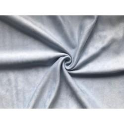 Замша иск. (на дайвинге) №414 - Голубой, 25х37 см