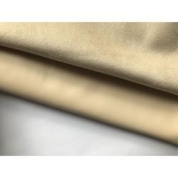 Замша иск. / кожзам стрейч №607 - Серо-лиловый, 25х34 см