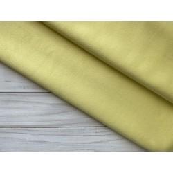 Замша на трикотаже №417 - Светло-желтый, 25х37 см