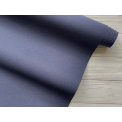 Ткань на бумажной основе - Тёмно-синий, 25х70 см