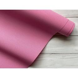 Ткань на бумажной основе - Ярко-розовый, 25х70 см
