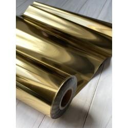 Фольга для горячего тиснения- Золото, 25х100 см