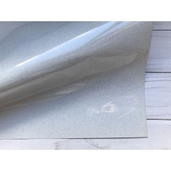 Термотрансферная плёнка Glitter (10х25 см) - White