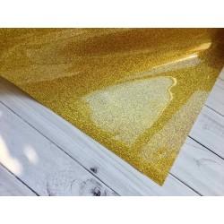 Термотрансферная плёнка Glitter (10х25 см) - Gold