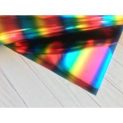Термотрансферная плёнка Flex Foil (10х25 см) - Multi Stripe