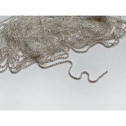 Цепочка шариковая 1 мм (20 см)