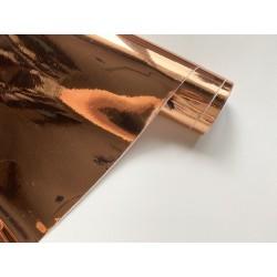 Винил (плёнка самоклейка) 15х25 см - Gloss Rose Gold