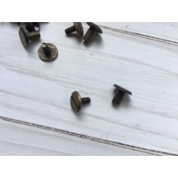 Крепление для кольцевого механизма (болт) - Бронза - 1 шт