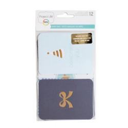 Набор карточек Project Life - Baby Boy Edition - PL