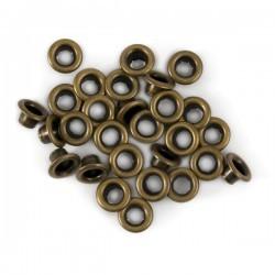 Люверсы бронзовые (10 шт)