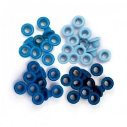Люверсы Aluminum Blue - Standard Eyelets