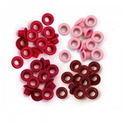 Люверсы Aluminum Red - WRMK